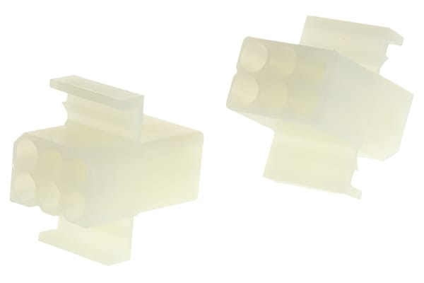 Product image for 2.36mm,housing,recept,pnl mnt,lock,6way
