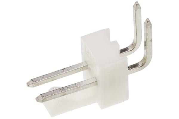 Product image for 2.54mm,header,KK,90°,Sn,frictn lock,2w