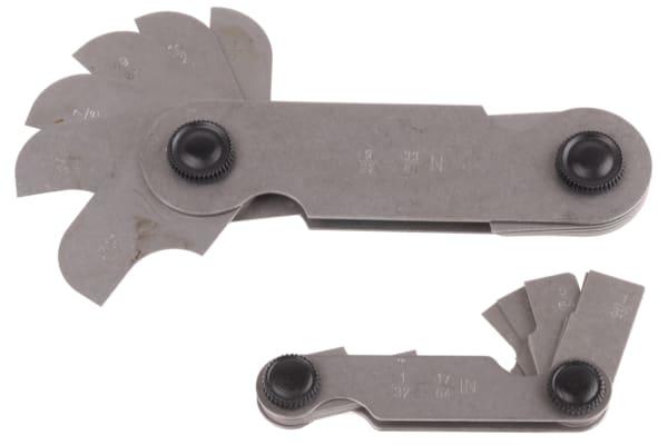 Product image for Imperial radius gauge set