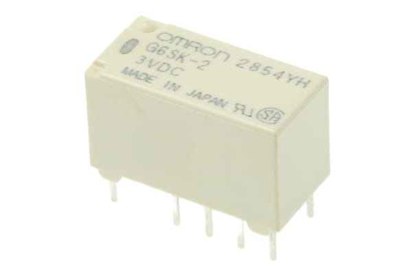 Product image for RELAY DPDT DIP DW-LATCHED,2A 3VDC