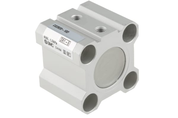 Product image for CYLINDER 20 X 10 DOUBLE ACTING