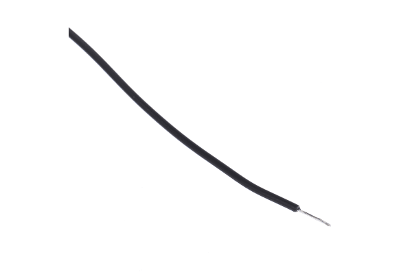 Product image for EcoWire 28AWG 600V UL11028 Black 30m