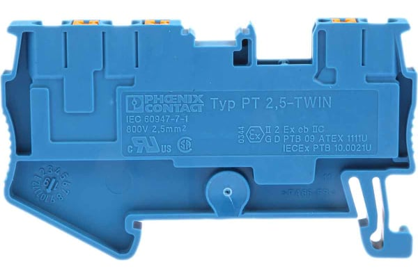 Product image for Feed-through PT 2,5-TWIN-BU