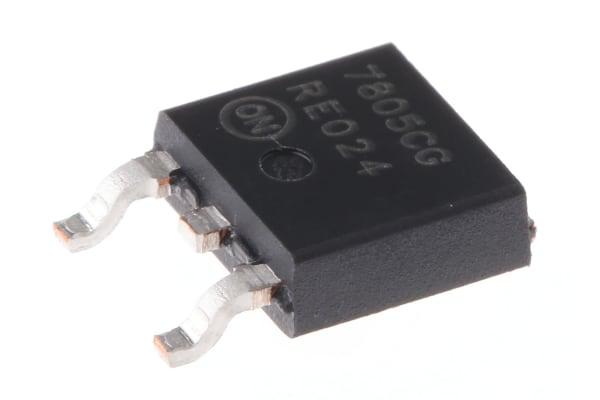 Product image for Voltage Regulator 5V 4% 2.2A DPAK