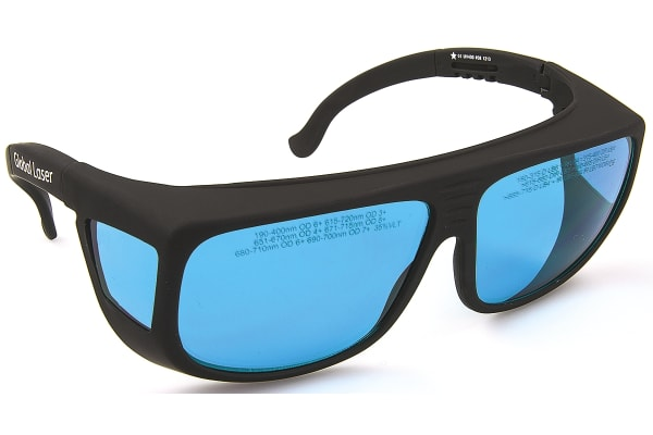 Product image for 615NM TO 720NM LASER SAFETY GLASSES