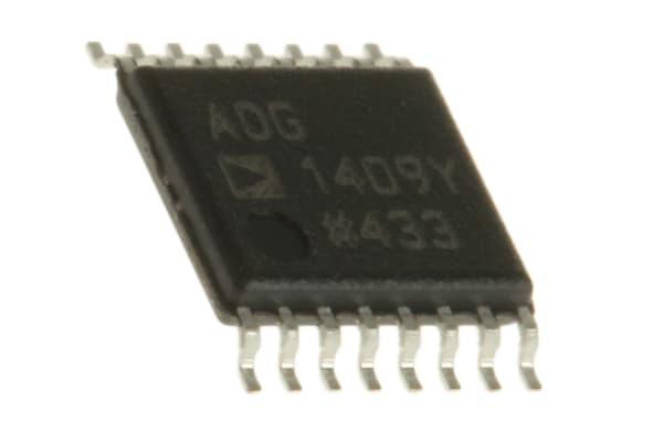Product image for Analog MUX Dual 4:1 16.5V/ 16.5V