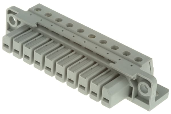 Product image for 10 POSITION SCREW CONNECTION SOCKET