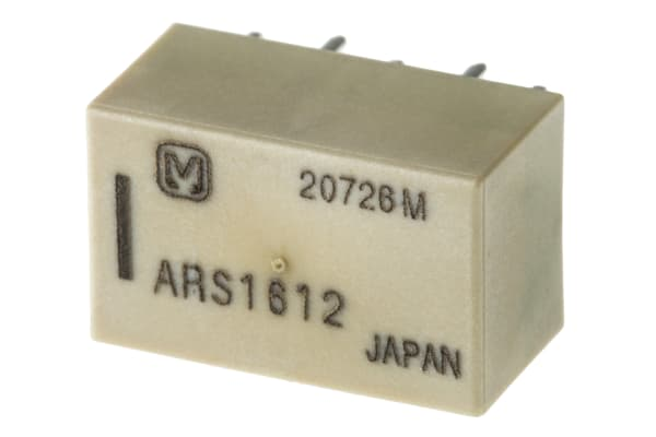 Product image for PCB RF RELAY,SPDT,2XLATCH,50OHM,12VDC