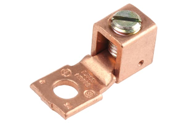 Product image for COPPER LUG TERMINAL FOR SSR