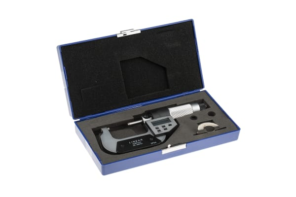 Product image for Digital Micrometer,25-50mm/1-2in