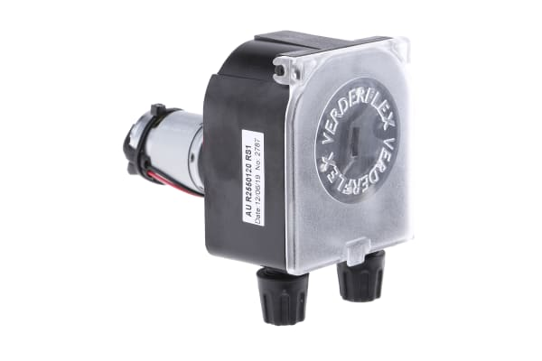 Product image for PANEL MOUNT PERISTALTIC DC PUMP 120 RPM