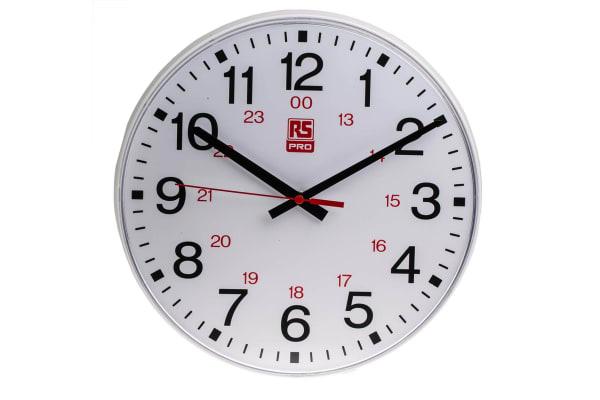 Product image for 30cm 24 hour Quartz Wall Clock