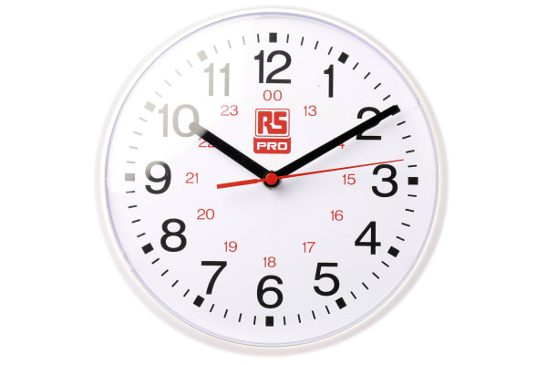 Product image for 21.5cm quartz wall clock