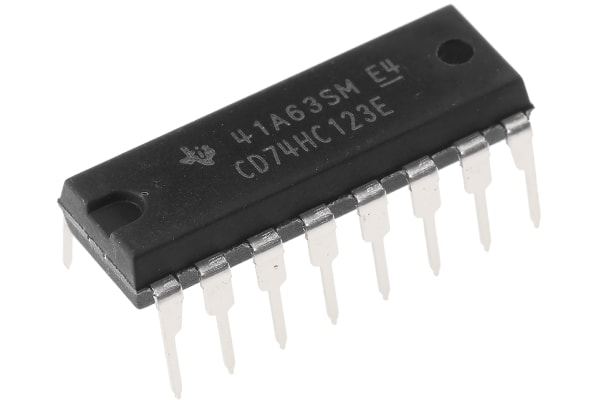 Product image for MONOSTABLE MULTIVIBRATOR DUAL PDIP