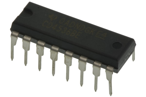 Product image for PROGRAMMABLE TIMER SINGLE 16-PIN PDIP