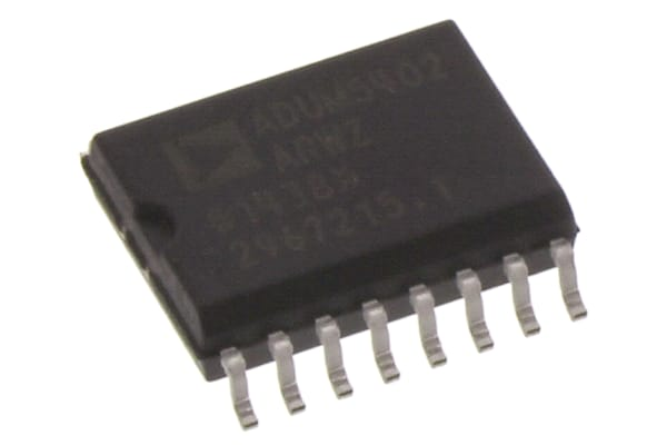 Product image for DIGITAL ISOLATOR 4-CHANNEL SOIC16