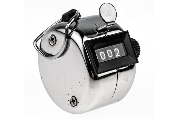 Product image for 4 digit hand held tally counter