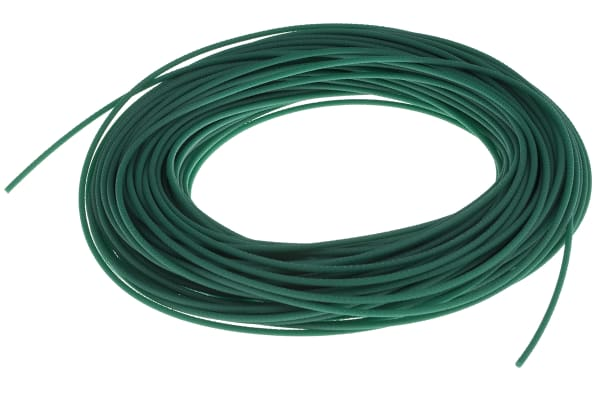 Product image for Green polyurethane belt, 30m L x 2mm dia