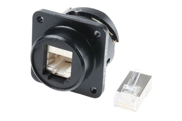 Product image for Glenair, Female Cat6 RJ45 Connector