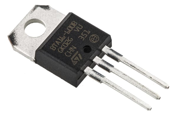 Product image for Triac 16A 600V Standard TO220AB