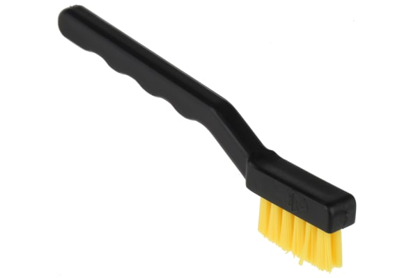 Product image for Flat ESD Brush, Nylon, PP
