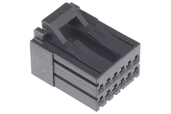 Product image for TE Connectivity, Dynamic 2000 Female Connector Housing, 2.5mm Pitch, 12 Way, 2 Row