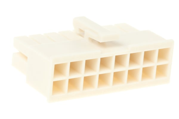 Product image for 16W D/R RECEPTACLE HOUSING