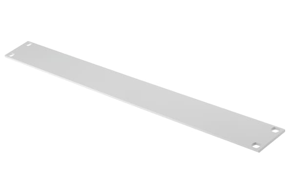Product image for 19IN. BLANK FRONT PANEL, 1U, RAL 7035