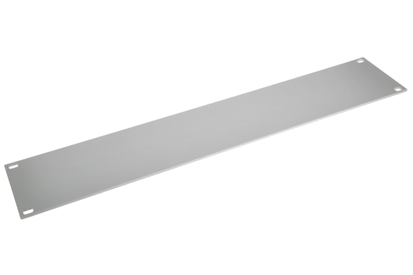 Product image for 19IN. BLANK FRONT PANEL, 2U, RAL 7035