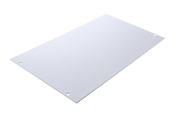 Product image for 19IN. BLANK FRONT PANEL, 6U, RAL 7035
