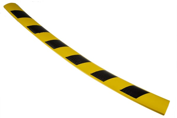 Product image for Plate protection yelow/black 60x10mm