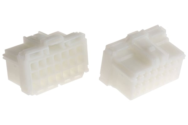Product image for MCP 2.8 21 way receptacle housing, Key B
