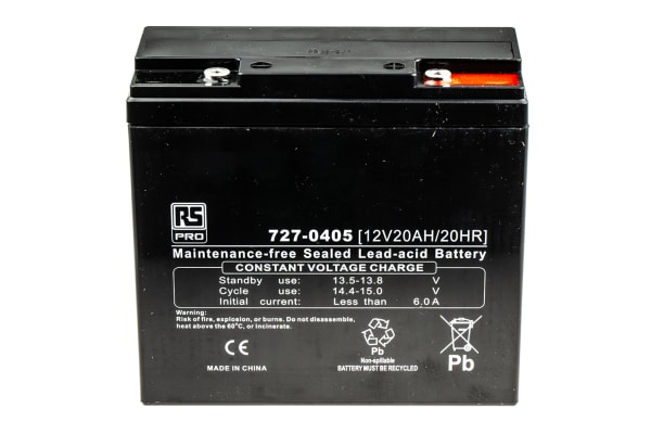 Product image for AGM Deep Cycle 12V 20Ah battery