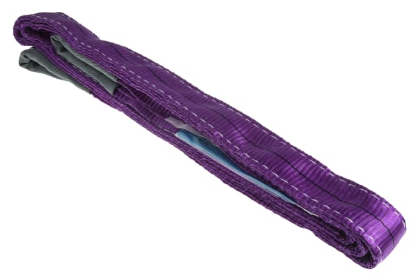 Product image for Purple duplex webbing sling,3m 1ton