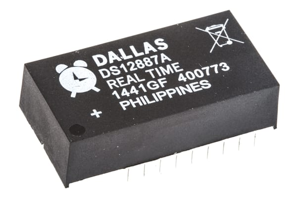 Product image for REAL TIME CLOCK MULTIPLEXED 114BYTE
