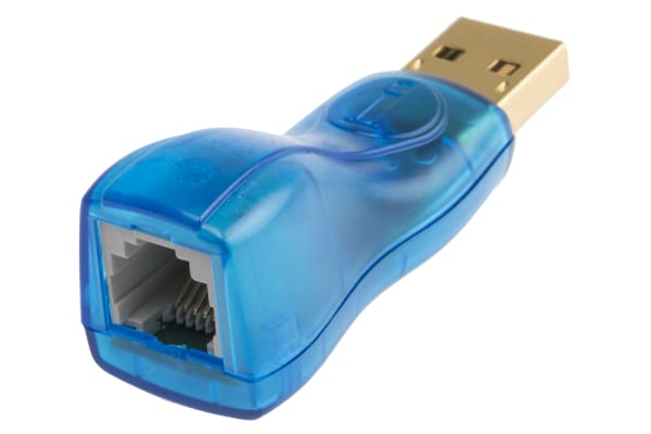 Product image for Maxim Integrated USB Male to RJ11 Female x 2 Network Adapter