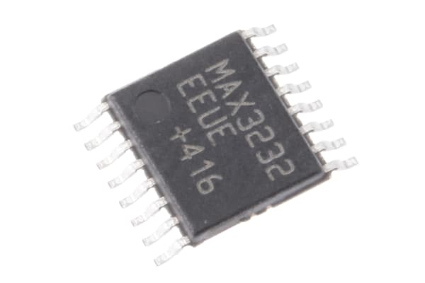 Product image for 3 TO 5.5V LOW-POWER RS-232 TRANSCEIVER