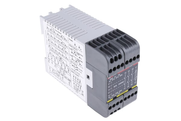 Product image for RT6 Safety Relay, 230Vac, 3NO/1NC