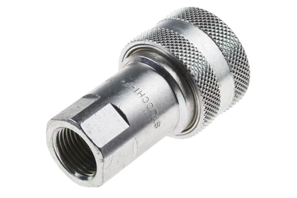 Product image for 1/2in BSP female steel body coupler