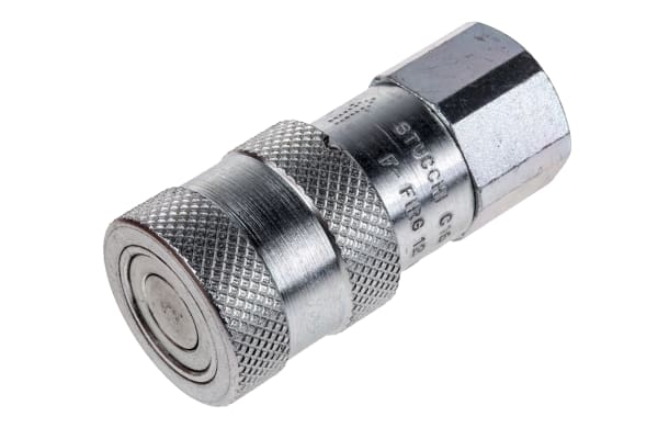 Product image for 1/2in BSP female flat face body coupler