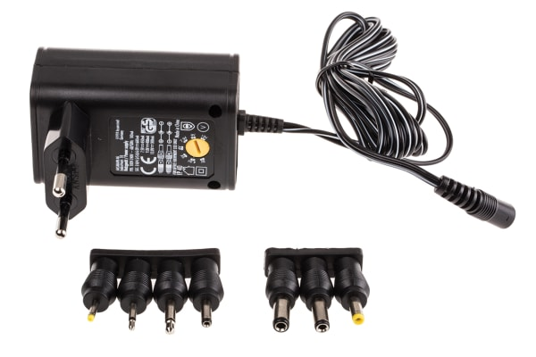 Product image for POWER ADAPTER,EURO,PLUG IN,ERP,3-12V