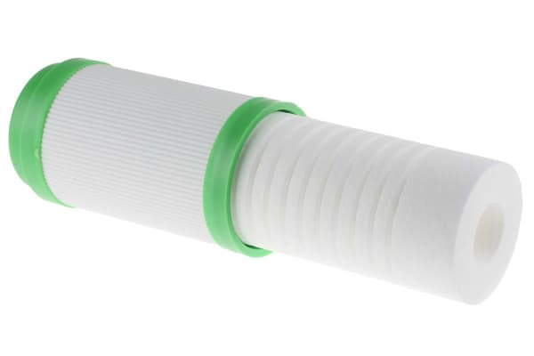 "Product image for 10"" 5 micron sediment/carbon cartridge"