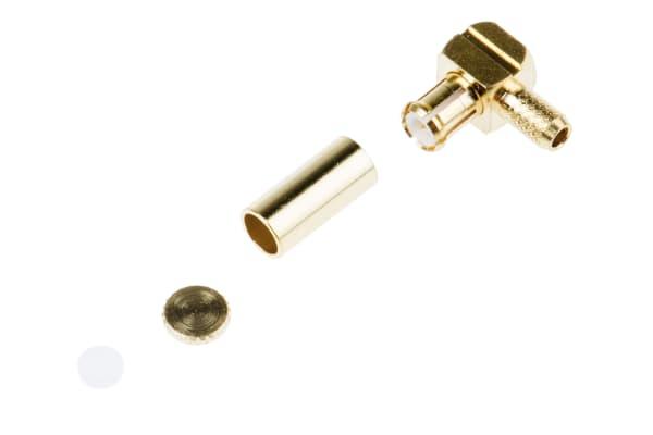 Product image for MCX r/a plug crimp for RG174U