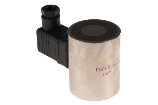 Product image for 50mm Dia. 24V Electro Permanent Magnet