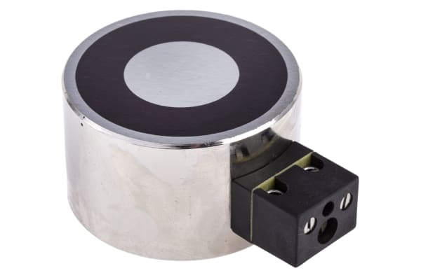 Product image for 50mm Dia. 24V Electro Holding Magnet