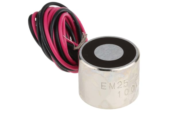 Product image for 25mm Dia. 24V Electro Holding Magnet