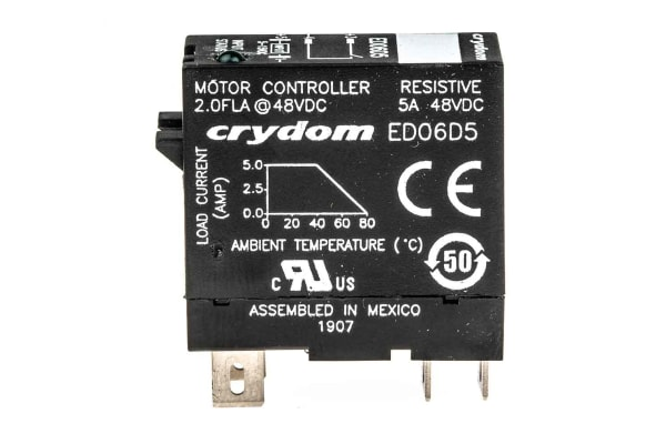Product image for DC SWITCHING PLUG IN RELAY 1 - 48 VDC 5A