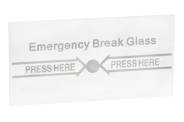 Product image for Spare break glass for call point