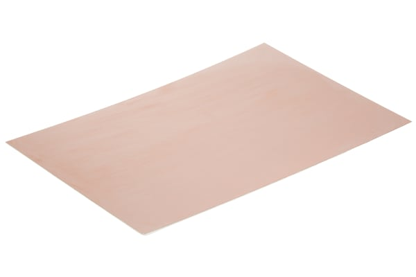 Product image for COPPER PCB, FR4, 1 SIDED, 300X200X0.8MM