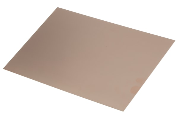 Product image for COPPER PCB, FR4, 2 SIDED, 300X200X0.8MM
